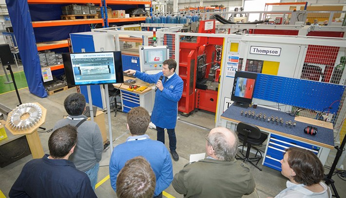 Linear friction welding demonstration – TWI industrial tour
