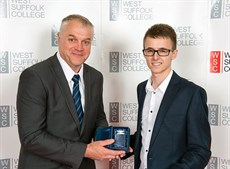2017 West Suffolk college award