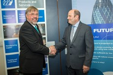 Chris Wiseman, TWI Industry Sector Manager and Jan Lukaszewski, ALFED Technical Manager